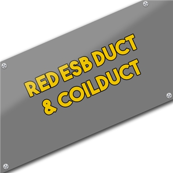 Red ESB Duct & Coilduct