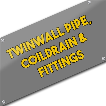 Twinwall Pipe, Coildrain & Fittings