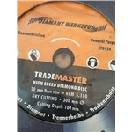 Trade Master Diamond Disc 12""